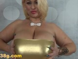 Gold Titty Tease