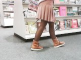 MILF Bookstore Flash
