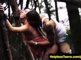 HelplessTeens Kaylee Outdoor Rough Sex