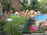 Czech Open Air Sex Party