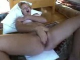 Blonde Milf Masturbate And Squirts