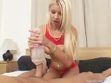 NIKKY'S FLESHLIGHT JERK OFF