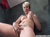 Gorgeous British MILF Tracy Venus Plays In The Shower