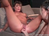 Sexy MILF Licks Hot Brunette Babe