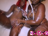 Ebony MILF Give Teen Her First Lasbian Experience