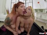 Slippery Massage With Lesbian Milfs