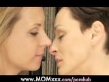 MOM Lesbian MILF With Big Tits Kisses And Orgasms