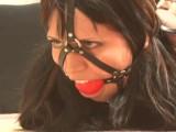 Samantha In Hogtie Bondage