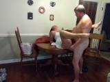 Sexy Milf In A Sundress Gets Fucked And Creampied On The Dining Table…