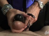 My Hot Ass – Goddess Nikki POV FemDom Handjob Makes Him Cum With Strapon