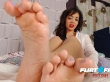 Brooke Foxx On Flirt4Free Fetish – Ebony Babe Latex And Foot Fetish