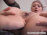 Teen Melisa Is BACK! This TIme With Hot Anal Fisting!