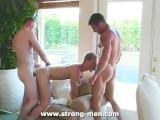 Threesome Hardcore Gay Sex