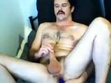 Hunky Daddy With Moustache