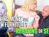 Debt4k. Maria Has Gorgeous Sexy Body And Uses It To Return All Money