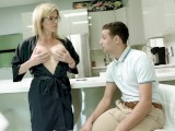 Step Mom With Big Tits Helps Step Son Study For A Test – Cory Chase