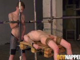 Big Dicked Master Ties Up Skinny Twink And Fucks His Mouth
