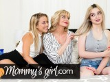 MommysGirl Cute Teens Roleplay As Step-Sisters For MILF!