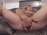 Hard Sex With Big Dildo In My Ass Cuming With No Hands