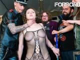 CrowdBondage – Sofia Curly BDSM Session With A Big Booty Belarusian MILF