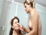 Blonde Punishes Her Slave