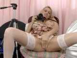 UK Milf Amber Jayne Gets Dirty With A Camera!