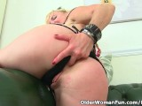 UK Milf Mouse Gets Out Of Control With The Whipping Cream