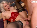 AmateurEuro – Super HOT MILF Slut Tests All Kinds Of Toys And Double Anal