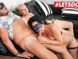 LETSDOEIT – Hot Italian Milf Ass Fucked Hardcore By Two Strangers