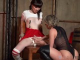 TRANSEROTICA Tied Up TS Natalie Mars Submits To Busty MILF